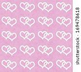 white interwoven hearts and... | Shutterstock . vector #169478618