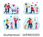family celebrations and... | Shutterstock .eps vector #1694831053