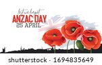 Illustration Of Anzac Day...