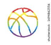 Backetball  Linear Sport Logo ...