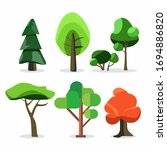 nature elements collection. set ... | Shutterstock .eps vector #1694886820