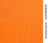 Orange Fabric Texture Background
