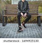 milan  italy   november 18 ... | Shutterstock . vector #1694925130