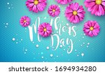 happy mother's day greeting...   Shutterstock .eps vector #1694934280