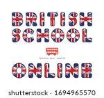 british school online. english... | Shutterstock .eps vector #1694965570