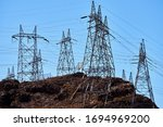 Telephone Wire Line Towers...