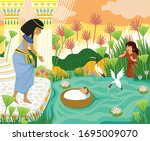 Passover Biblical Story Of Baby ...