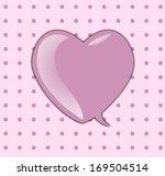 valentine day greeting card. | Shutterstock . vector #169504514
