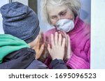Grandmother In A Respiratory...