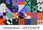 retro future inspired artwork... | Shutterstock .eps vector #1695122479