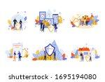 house  family  health ...   Shutterstock .eps vector #1695194080