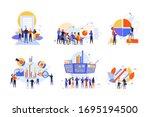 stock trading  stakeholder ... | Shutterstock .eps vector #1695194500