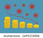 economical crisis concept.... | Shutterstock .eps vector #1695214006