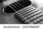 Close Up Macro On Guitar...