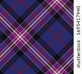 seamless vector purple plaid... | Shutterstock .eps vector #1695417940