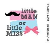 little man or little miss ...   Shutterstock .eps vector #1695428986