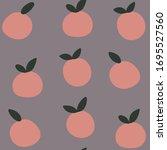 minimalistic seamless vector... | Shutterstock .eps vector #1695527560