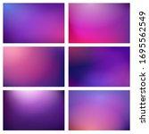 blur purple lights backgrounds. ...   Shutterstock .eps vector #1695562549
