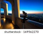 city of los angeles as seen... | Shutterstock . vector #169562270