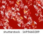 light pink vector background... | Shutterstock .eps vector #1695660289