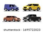 four different cars.  transport ...   Shutterstock .eps vector #1695722023
