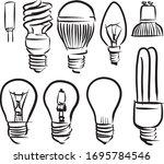 minimalistic pictogram...   Shutterstock .eps vector #1695784546
