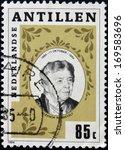 netherlands antilles   circa... | Shutterstock . vector #169583696