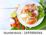 Spicy Vermicelli Seafood Salad...