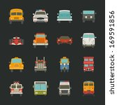 Car Icons   Transport   Eps10...