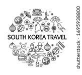 korea signs round design...   Shutterstock .eps vector #1695938800