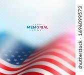 Memorial Day Of The Usa Vector...