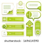 modern infographics options... | Shutterstock .eps vector #169614590