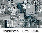 art vintage  modern and trendy...   Shutterstock .eps vector #1696210336