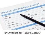 application for employment | Shutterstock . vector #169623800