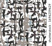 spots  ikat. tie dye  batik.... | Shutterstock .eps vector #1696259629