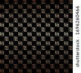 golden and black seamless... | Shutterstock .eps vector #1696260466