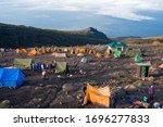 Camping On Mount Kilimanjaro In ...
