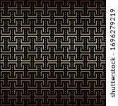 geometric golden and black... | Shutterstock .eps vector #1696279219