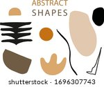 abstract trendy elements and... | Shutterstock .eps vector #1696307743