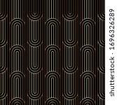 art deco linear pattern ... | Shutterstock .eps vector #1696326289