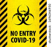 bacteriological hazard sign and ...   Shutterstock .eps vector #1696346950