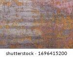 Rusty Worn Metal Iron Steel...