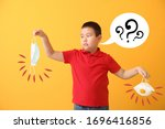 asian boy with different...   Shutterstock . vector #1696416856