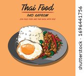 vector illustrations of thai... | Shutterstock .eps vector #1696441756