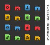 website user interface elements ...