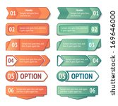 infographics options and titles ... | Shutterstock .eps vector #169646000