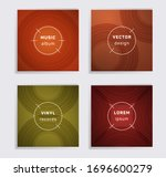 cool plate music album covers... | Shutterstock .eps vector #1696600279