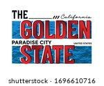 california stylish typography... | Shutterstock .eps vector #1696610716