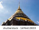 Pagoda At  Wat Phra That...