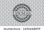 Unusual Silver Emblem Or Badge. ...